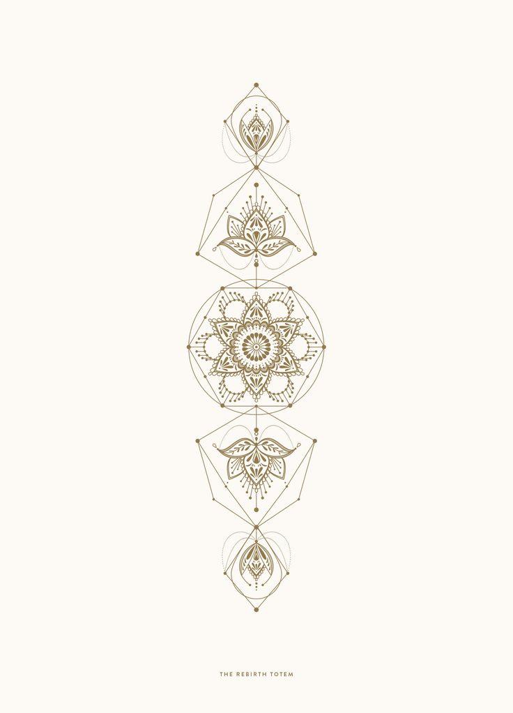 LINE ART: THE REBIRTH TOTEM | Cocorrina
