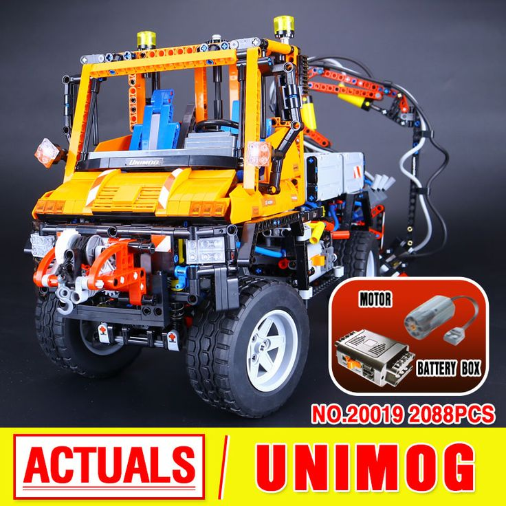 2017 New LEPIN 20019 Technic Truck Unimog U400 Model Building Kits  Blocks Bricks Compatible Toys 8110 Lovely Gifts Toys