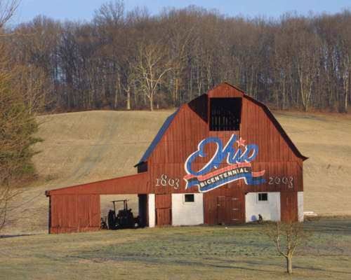 Ohio Bicentennial Barns - Jackson County