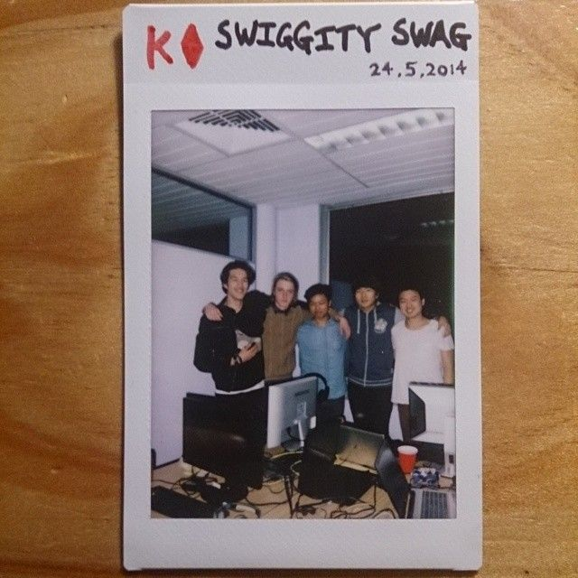 52 cards in a deck // 52 weeks in a year. I manage a League of Legends team called Swiggity Swag. This is a team photo of the first team to win a tournament (ANU Epic Games Night 7). So proud :') #SWSW #polaroid #photochallenge #photography