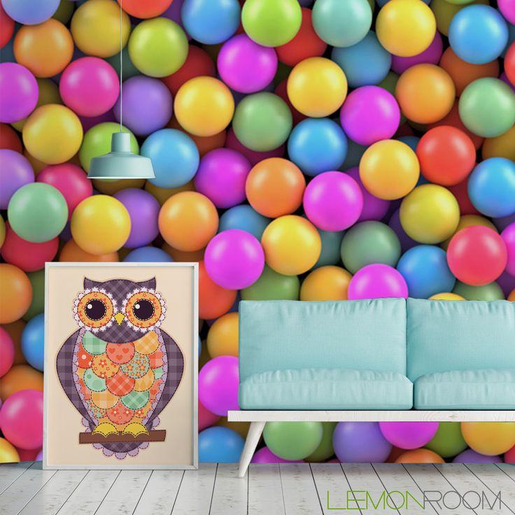 Fototapeta 3D Kulki  >> http://lemonroom.pl/fototapeta-0-wyniki-wyszukiwania-113048326-Colorful-balls-background.html  #fototapety #fototapeta #fototapety3D #Design #WystrójWnętrz #inspiracje #Dekoracje #Wnętrza #Aranżacje #Wnetrza #wystrojwnetrz #InteriorDesign #HomeDecor #Decorating #WallDecor #WallArt #Wallmurals #murals