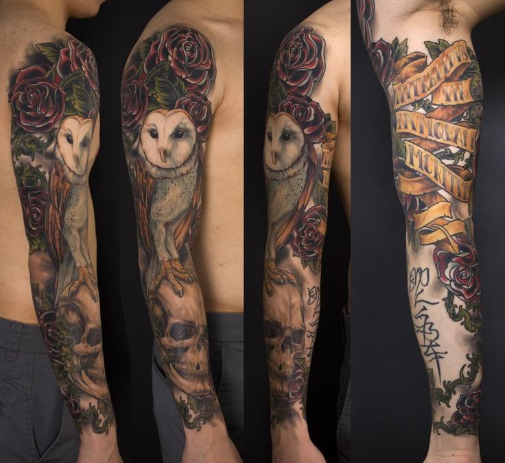 tattoo do dia tattooistart wicked tattoo and skull sleeve tattoos. Black Bedroom Furniture Sets. Home Design Ideas