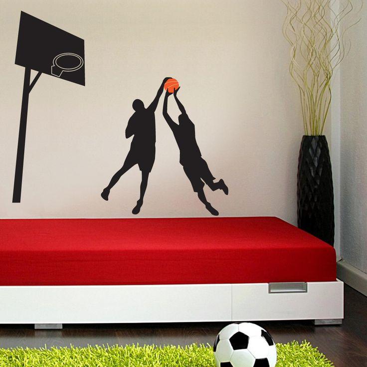 Basketbol Duvar Sticker :: DEVesnaf