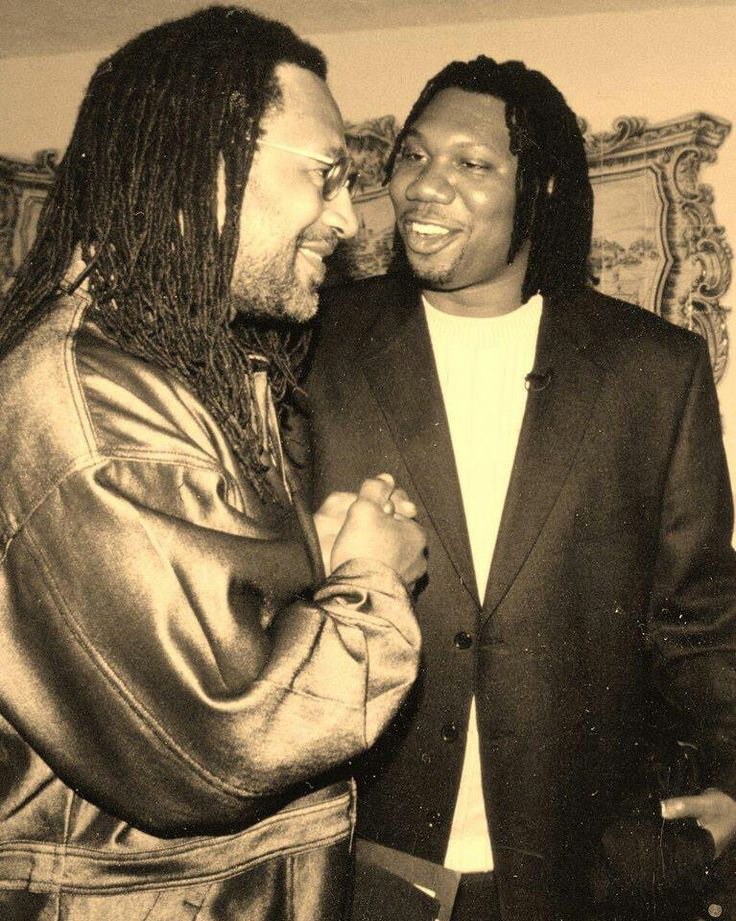 KRS-One and Kool Herc