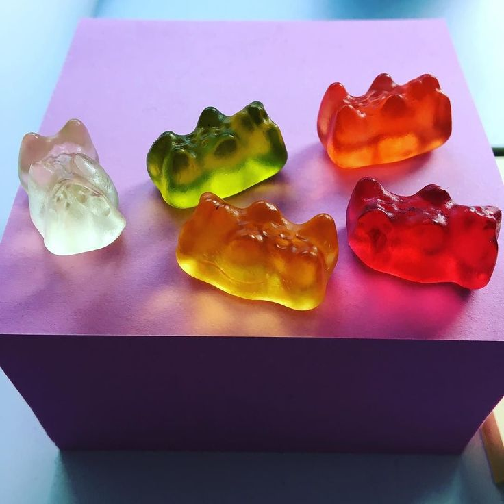 Stress snacking? #graphicdesign #gummybears #designlife