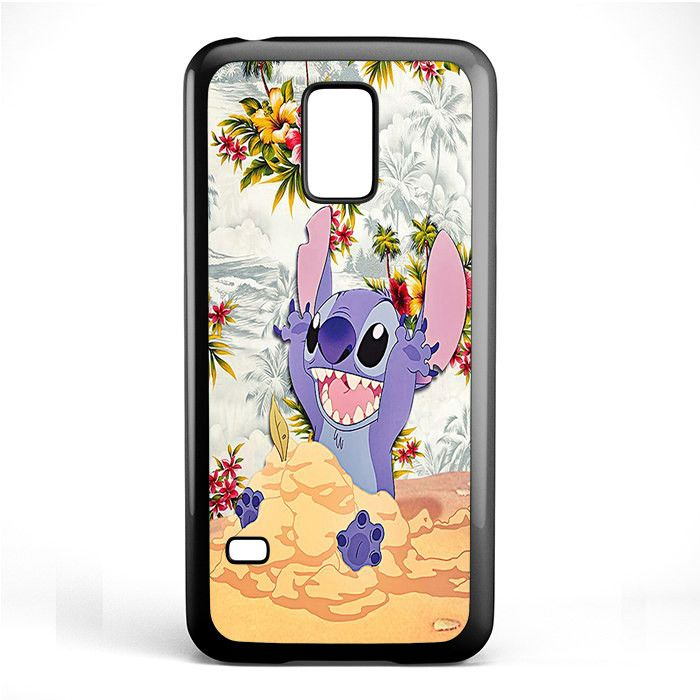 Disney Stitch Floral TATUM-3429 Samsung Phonecase Cover Samsung Galaxy S3 Mini…
