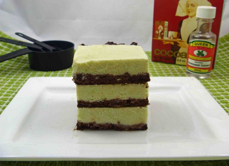Check out the recipe for this Frozen mint chocolate slice made with no refined carbohydrates over at my blog.