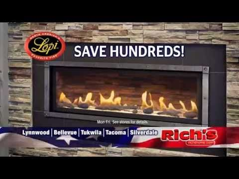Donu0027t Miss Richu0027s Labor Day Sale. Huge Savings On Lopi Fireplaces And Stoves