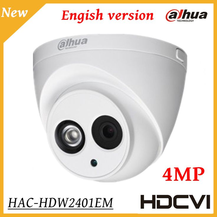==> [Free Shipping] Buy Best 4MP Dahua HDCVI Camera WDR IR Eyeball Security Camera IR Distance 50M Indoor Outdoor IP67 Smart IR HD SD dual-output CCTV camera Online with LOWEST Price | 32793902203