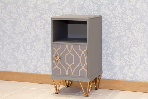 Now Sold Up Cycled Hand Painted Bedside Cabinet Cupboard Painted Sideboard Painted Furniture Chalk Paint Furniture