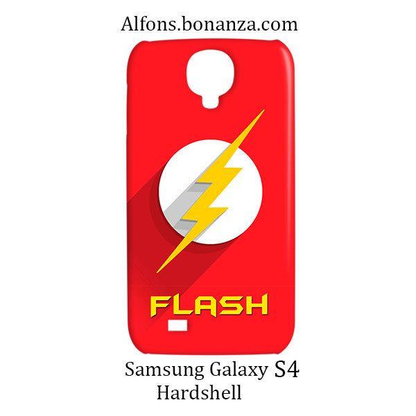 Flash Superhero Samsung Galaxy S4 S IV Hardshell Case