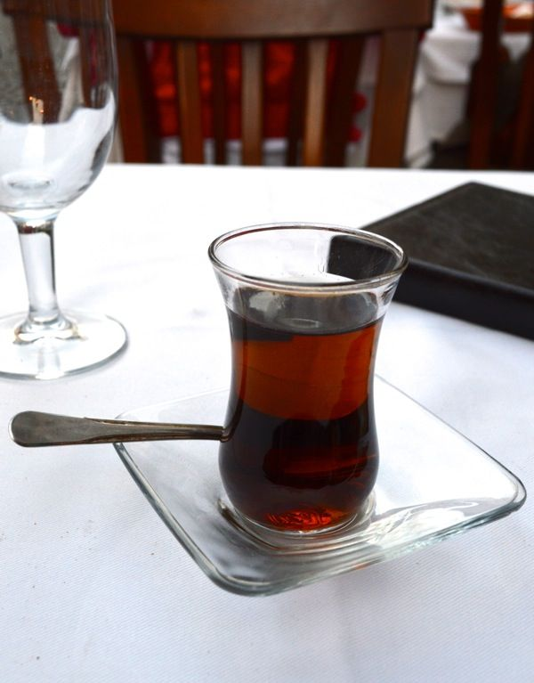 Turkish Apple Tea - How to See Istanbul In One Day by thewoksoflife.com