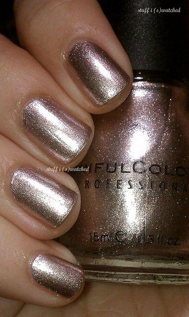 Sinful colors super nova- bought it & love it  as an accent color!