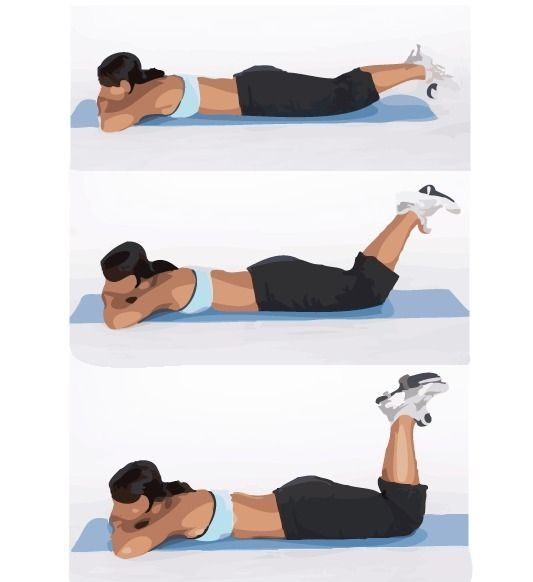Image result for reverse leg curls at home