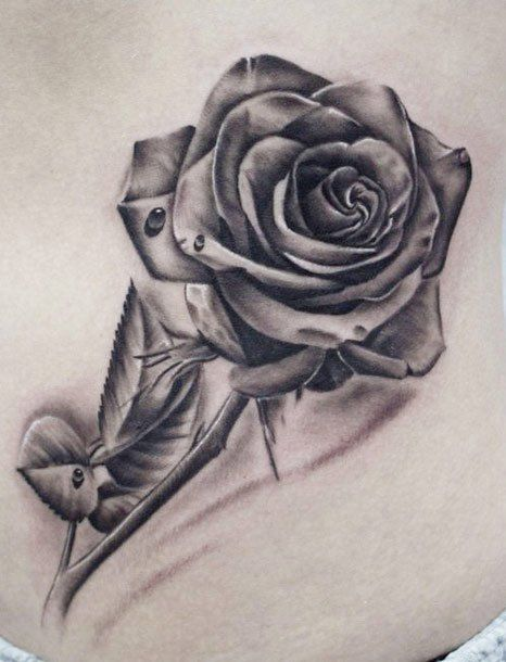 392 best tattoo images on pinterest tattoo ideas tattoo for Rose with thorns tattoo