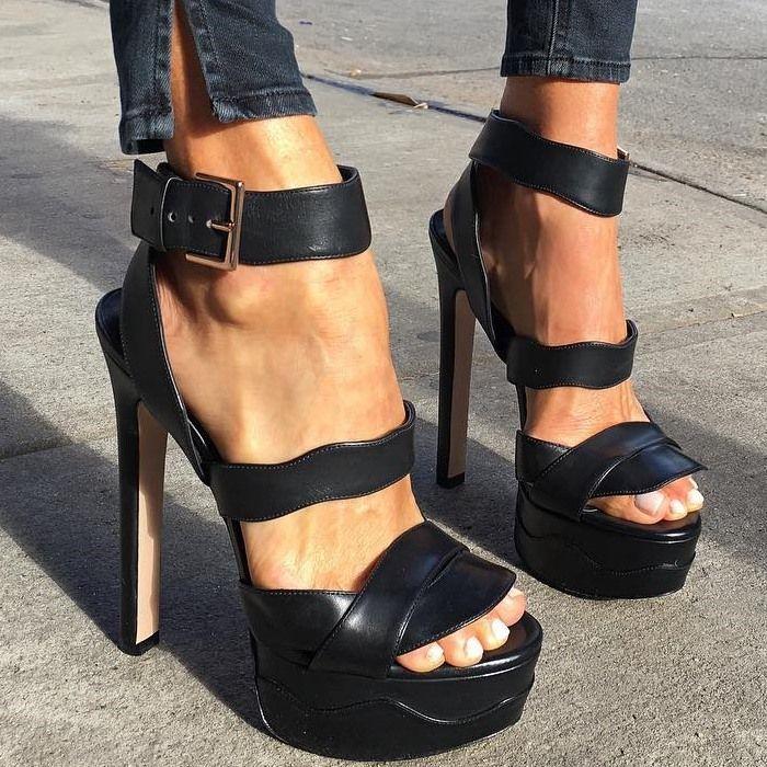 Ruthie Davis 'Ava' Heels