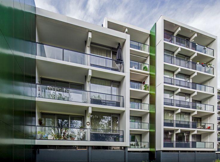 Hippe Hoogbouw Weezenhof, Nijmegen Pieter Oosterhout Buro voor Architektuur BNA b.v.
