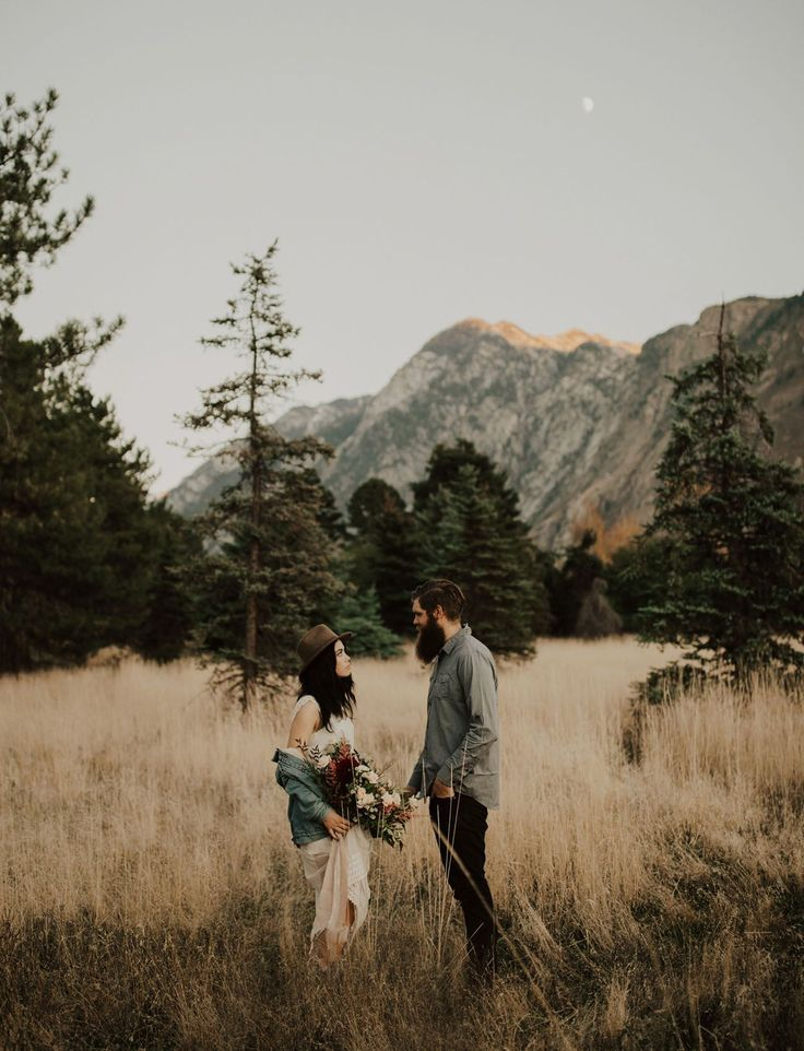 Rocky Mountains Anniversary session photographed by India Earl // for the adventurous hipster couple that loves the outdoors