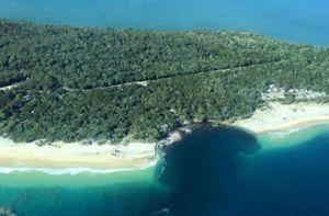 Идеальное путешествие: В Австралии гигантская волна накрыла пляж вместе с...