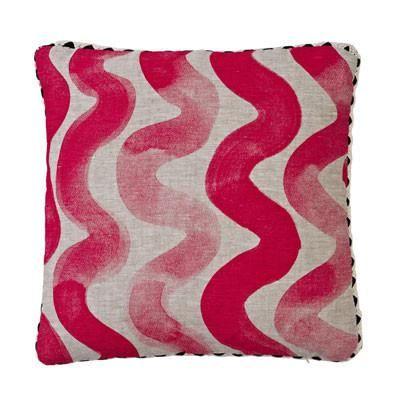 Bonnie & Neil - Pink Wave Cushion #worthynzhomeware wwworthy.co.nz
