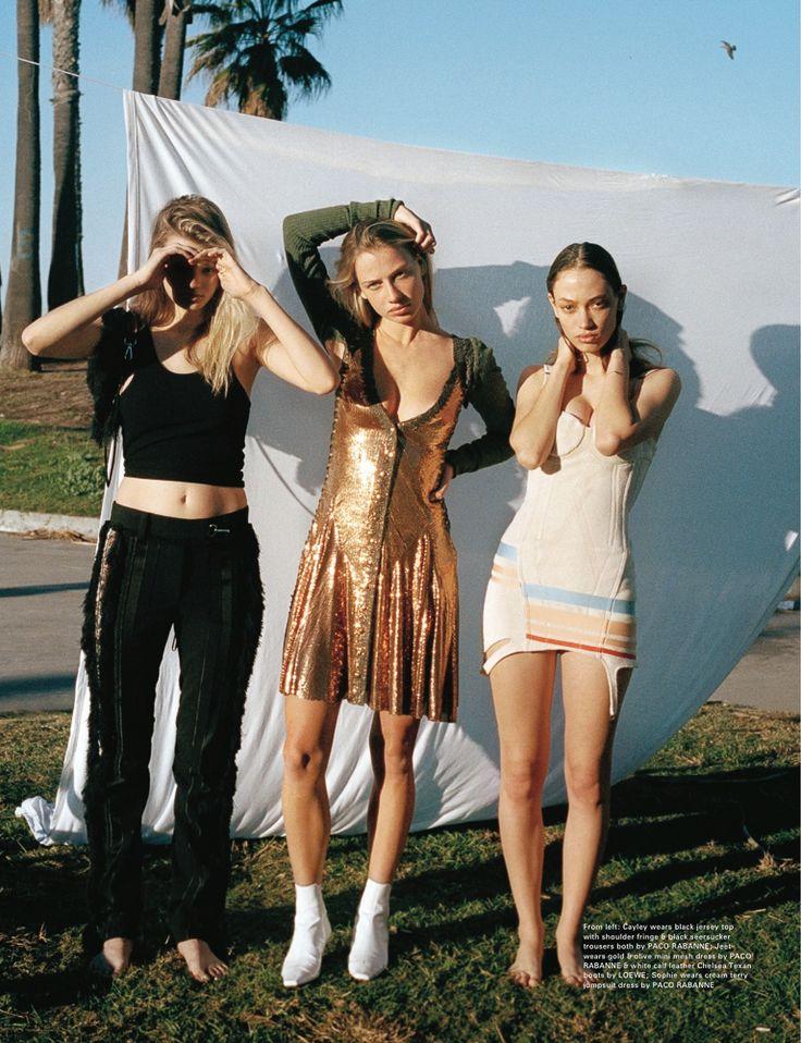 L to R: Cayley King, Jeet Pavlovich, Sophie Koella