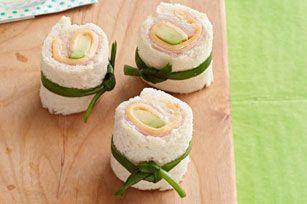 Sushi para niños Receta