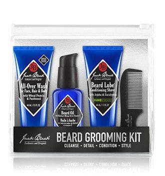 Caring for your beard shouldn't be complicated. For over 15 years, Jack Black has been creating effective skincare for men—pure and simple. This four-step grooming routine will leave his skin and faci