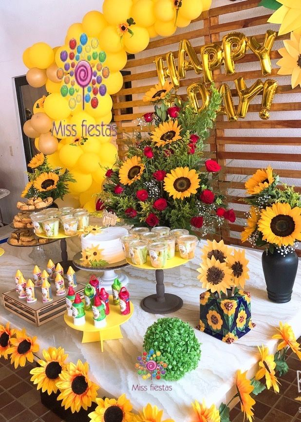 Details about  /Girasoles Artificiales Para Decoracion Fiestas Sala Cocina Sunflower Wall Décor