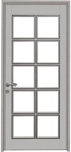 Las 25 mejores ideas sobre puertas de aluminio en for Puertas de metal con vidrio modernas