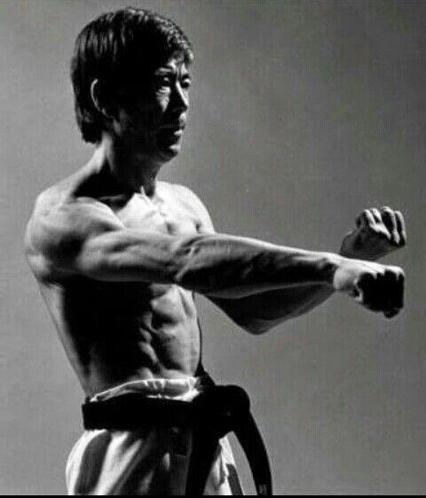The legendary #Hirozaku Kanazawa Sensei. One of the all time favorite fighter of Shotokan!!!  #inspire #strength #bestrong #RRKA +Texas Karate Academy
