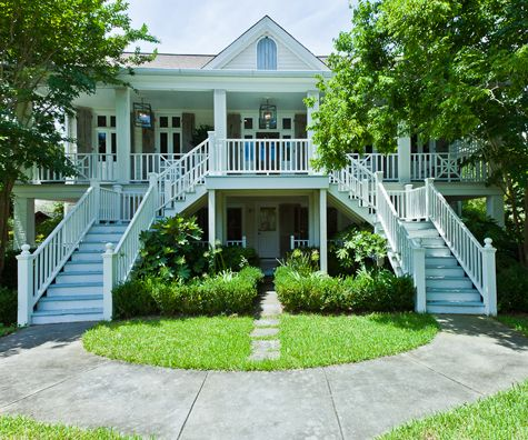 ...and big white southern houses