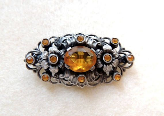 Vintage Brooch Vintage Jewelry Jewellery Gift for Her