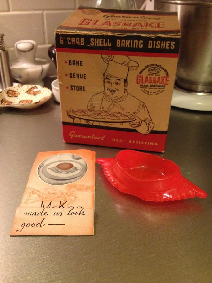 Mid-Atlantic Material Culture: McKee Crab Baking Dishes | The Still Room