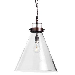 Felix 1 Light Pendant 25cm, Schots $165