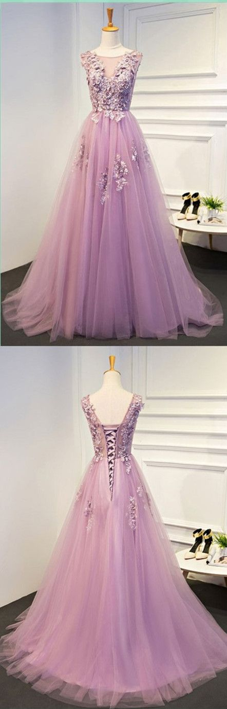 Appliques A-Line Prom Dress,Long Prom Dresses,Prom Dresses,Evening Dress, Prom Gowns, Formal Women Dress,prom dress