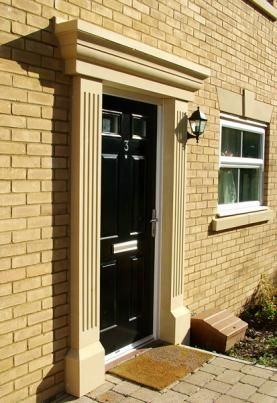8 best Door Surrounds images on Pinterest | Cast stone, Door entry ...