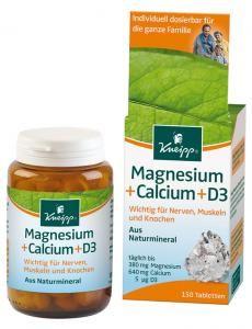 Magnesium + Calcium Tabletten 150 Stück