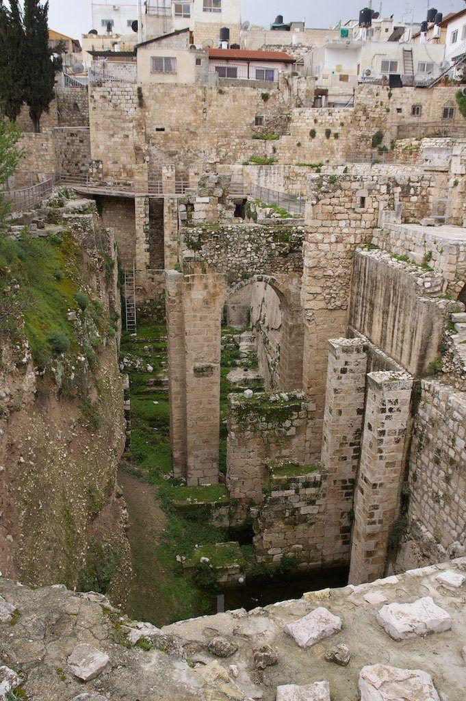 Pool of Bethesda - Jerusalem, Israel:
