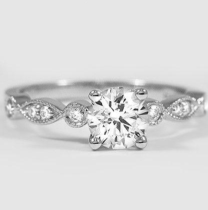 Metal Couture Enchanting Tryst Ring - UK K - US 5 1/8 - EU 50 R0nTank