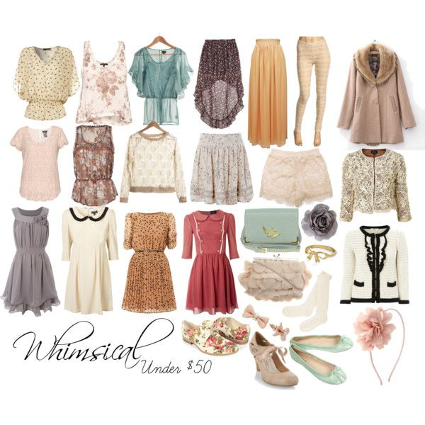 9 Best Images About Whimsical Feminine Classic Style On Pinterest Romantic Retro Clothing