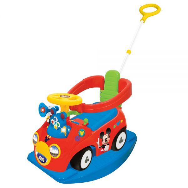 Ride on interactiv Mickey Mouse 4 in 1 de la Kiddieland