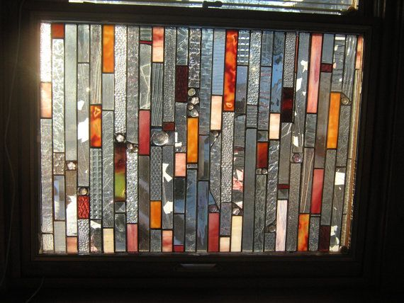 GLASS CURTAINS stained glass panel curtains     no more peeping toms