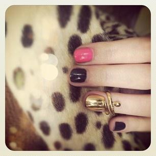 nail ring: Nails Art, Nails Porn, Nails Rings So, Fierce Fashionista, Style Inspiration, Accessor, Hair Nails Makeup, Gold Rings, Haute Style