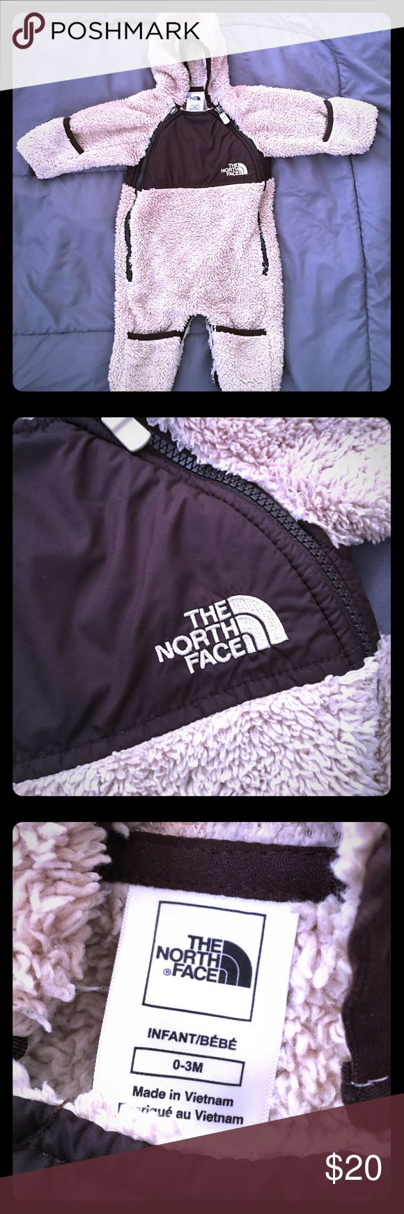 Infant The North Face Snuggle Suit! FIRM PRICE. Excellent condition! The North Face Jackets & Coats