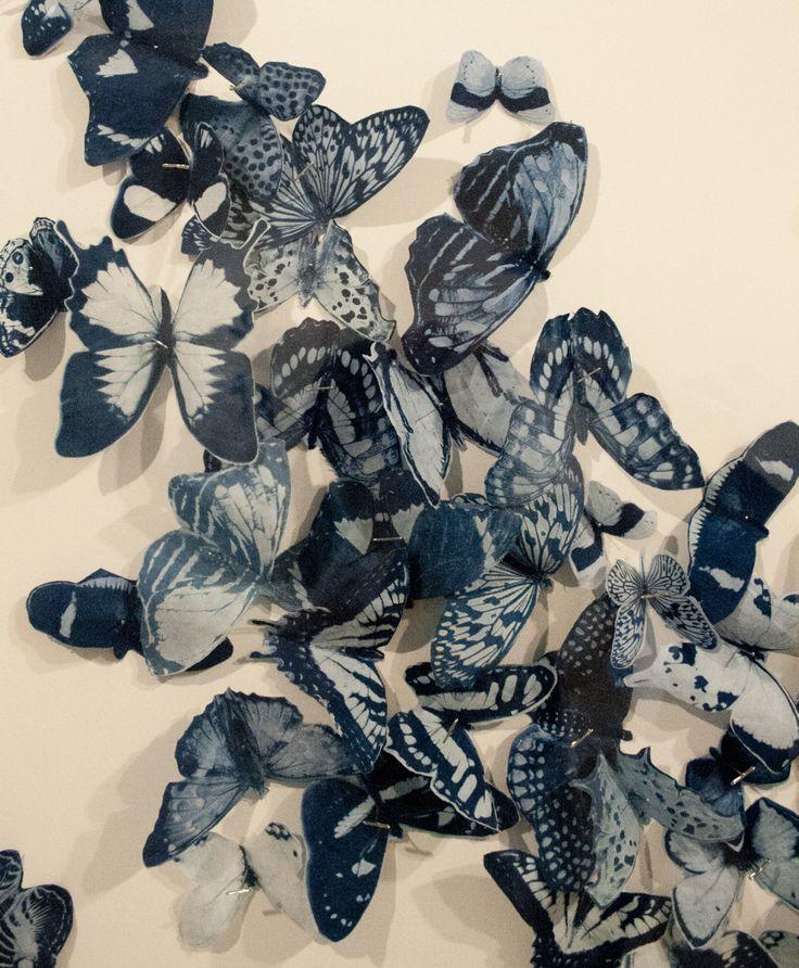 Cyanotype butterflies!    www.tashalewis.info
