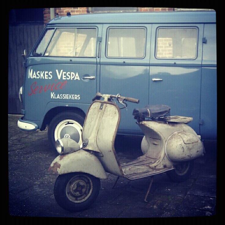 Vespa Faro Basso & VW T1