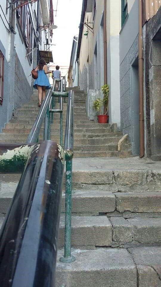 Tantas escadas...