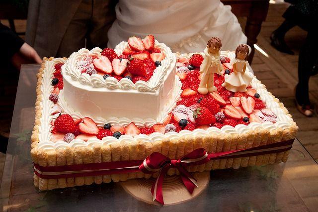 ウェディングケーキ                                                                                                                                                                                 もっと見る