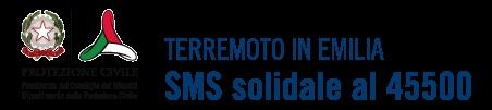 Su richiesta del Dipartimento della Protezione Civile, d'intesa con la Regione Emilia Romagna e grazie agli operatori di telefonia mobile e ai media, è attivo dal 29 maggio, fino al 26 giugno, il numero 45500, per la raccolta di fondi ai terremotati, attraverso l'invio di sms del costo di 2 euro.  Il ricavato della sottoscrizione sarà destinato alla popolazione colpita dall'emergenza terremoto secondo le necessità indicate dalla Regione Emilia-Romagna.