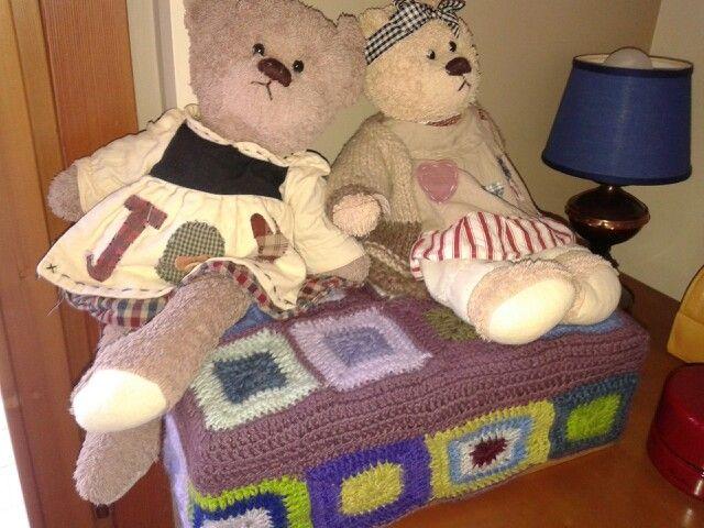 Le mie orsette su scatola